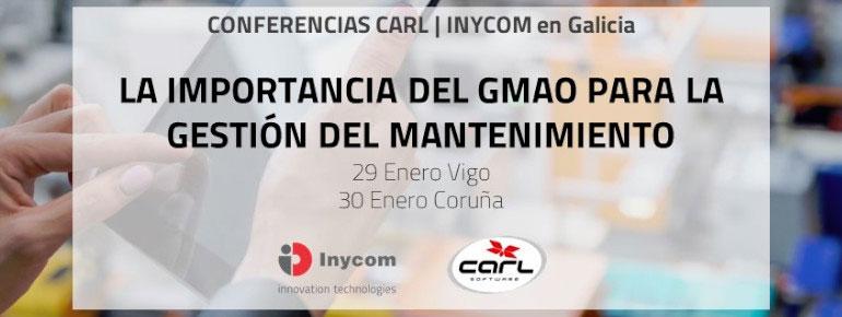 CONFERENCIAS CARL | INYCOM en Galicia